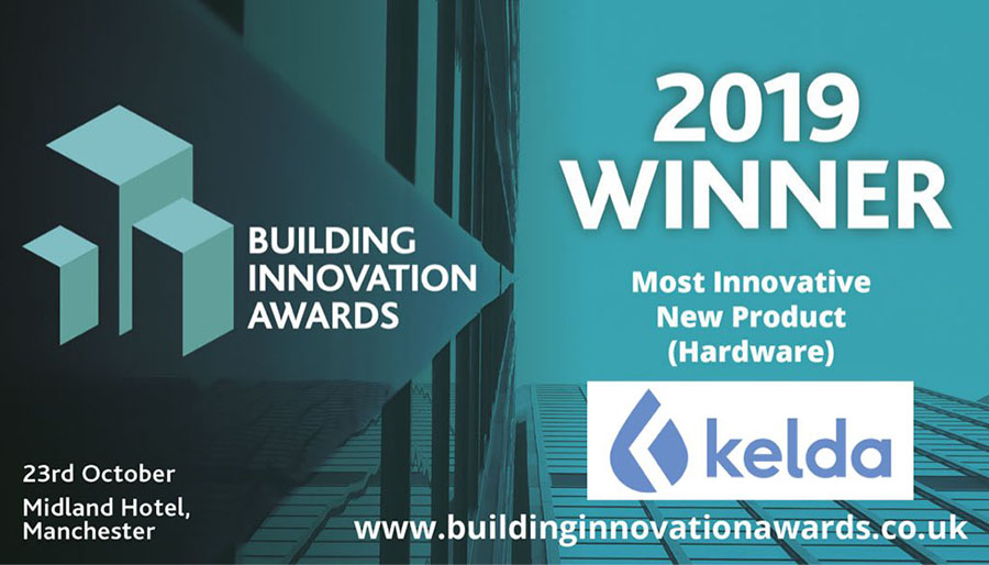 Growthdeck: Kelda Wins 'Most Innovative New Product' at the Building Innovation Awards