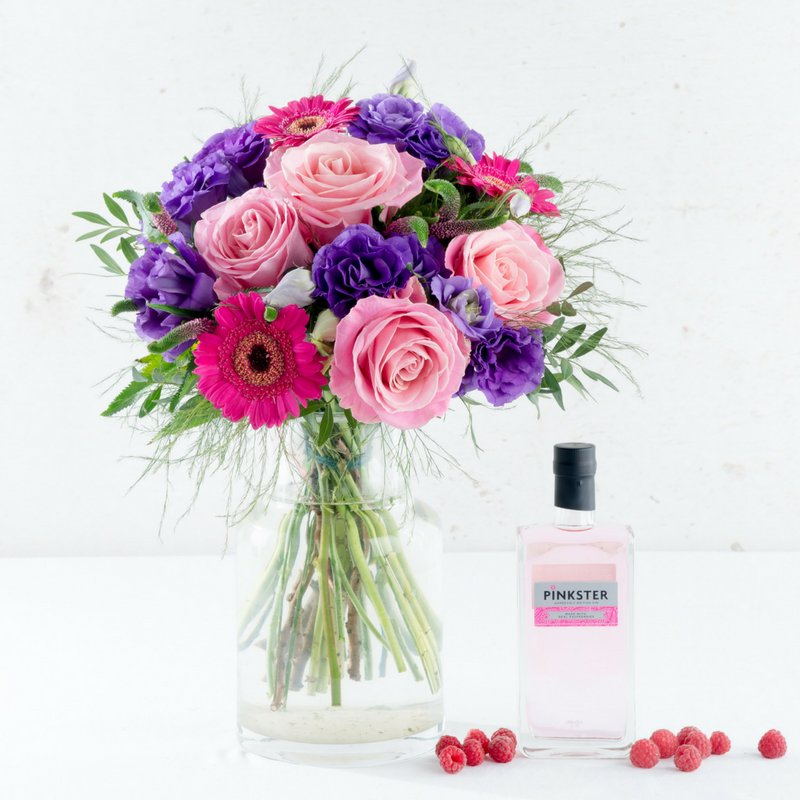 Growthdeck: Ginmeister launches Pinkster bouquet with Interflora