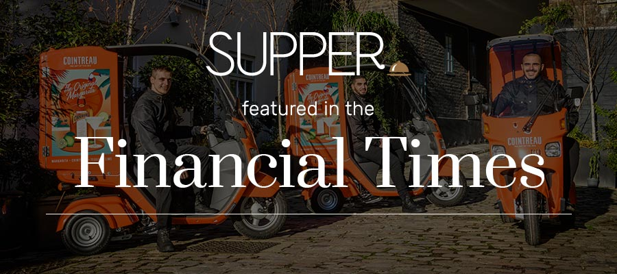 Growthdeck: The Financial Times - 'SUPPER Shrugs off Deliveroo Slump with Funding Round'