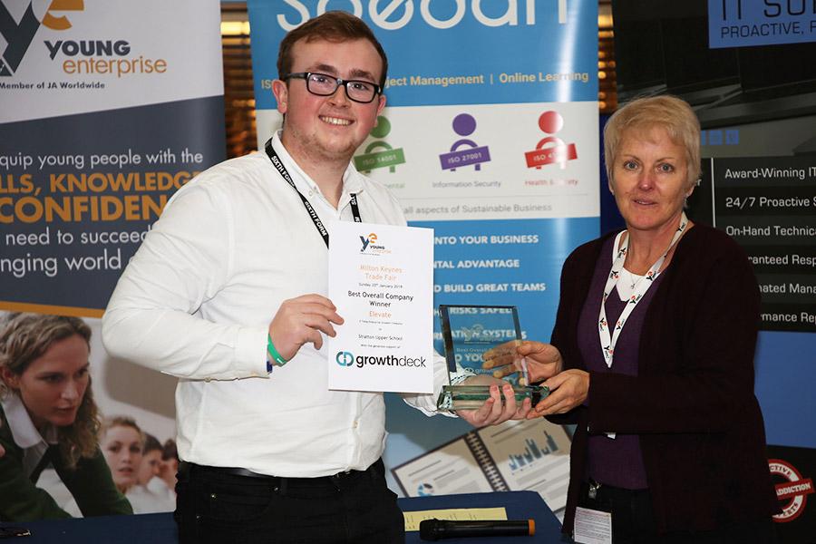 Growthdeck: Young Entrepreneurs Impress at Milton Keynes Trade Fair