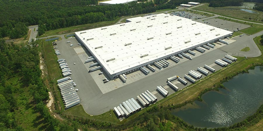 Large distribution centres vital to the logistical success